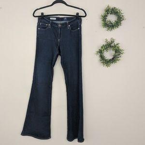 AG | The Belle Flare Dark Wash Stretch Jean 28R